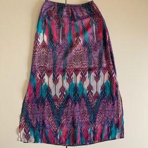 Amy's Closet girls long flow skirt